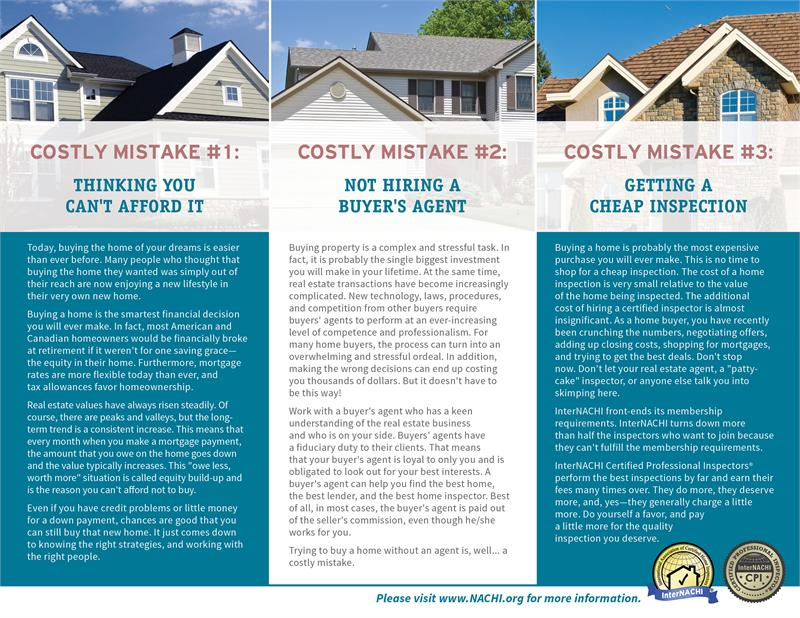 costly mistakes every homebuyer should avoid